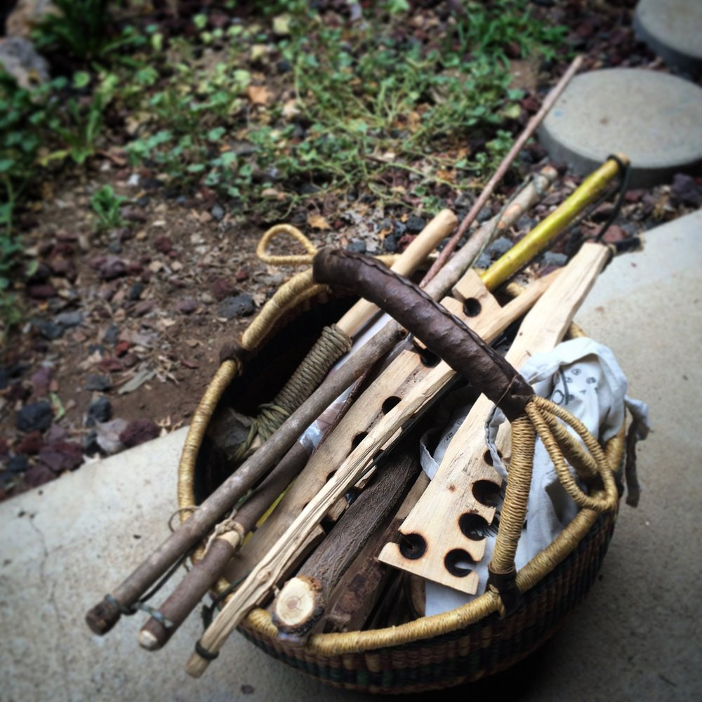 Basket O' Fire Kits.