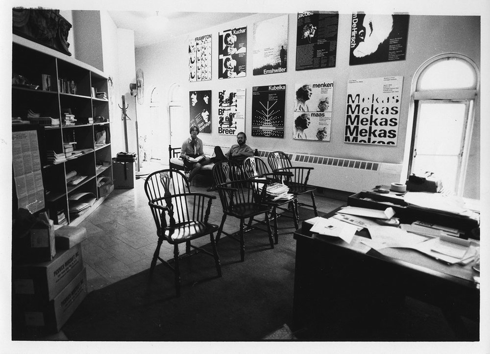 The Office of Sally Dixon -- 1970 at the Carnegie Museum of Art