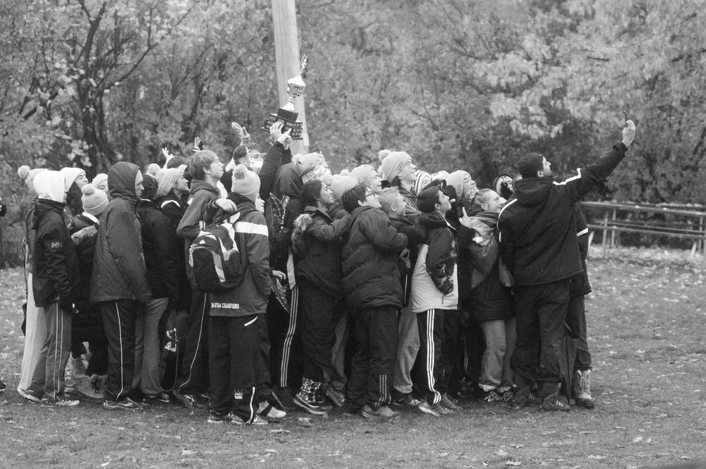 9CONSECUTIVE REGIONAL CROSS COUNTRY CHAMPIONSHIPS (2010-Present; currently tied for the ROPSSAA record)