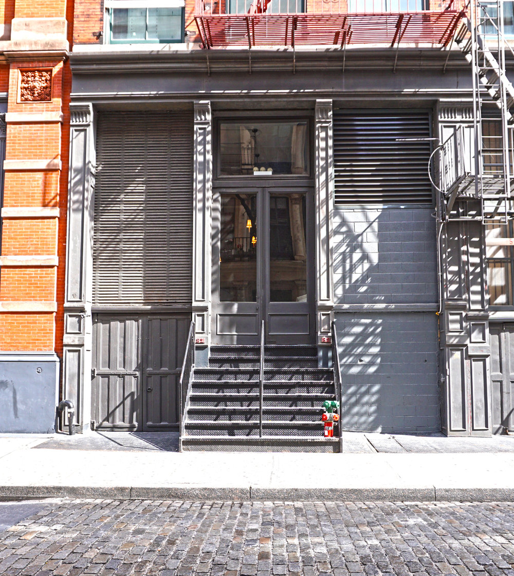 82 MERCER  in Soho, manhattan  -  WHERE IT ALL BEGAN              - Oct 2014