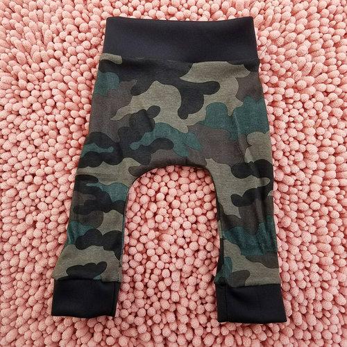 210325326fc2e Dark green baby boy girl toddler leggings, kids childs camo leggings,  hipster harem camo leggings pants, hunting camo leggings