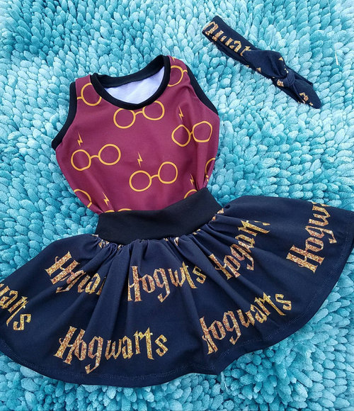Harry Potter baby toddler girls wizard outfit 7b64f0a17d0