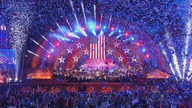 Image from the Boston Pops 4th of July celebration in 2016.