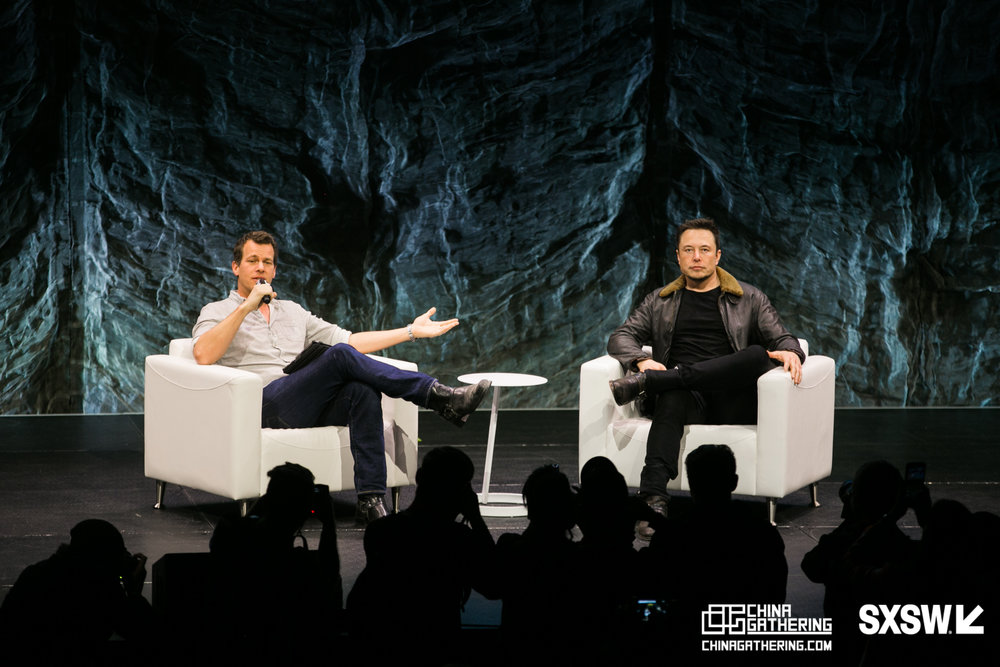 March 11th, 2018 - - Experience SXSW with China Gathering Guides- Capital Factory Tour- SXSW Panel: Q & A with Elon Musk