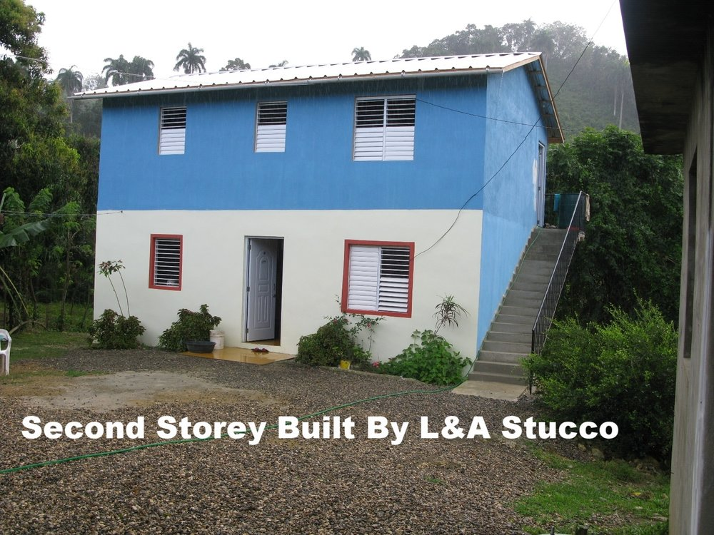 Second Storey Built By L&A Stucco