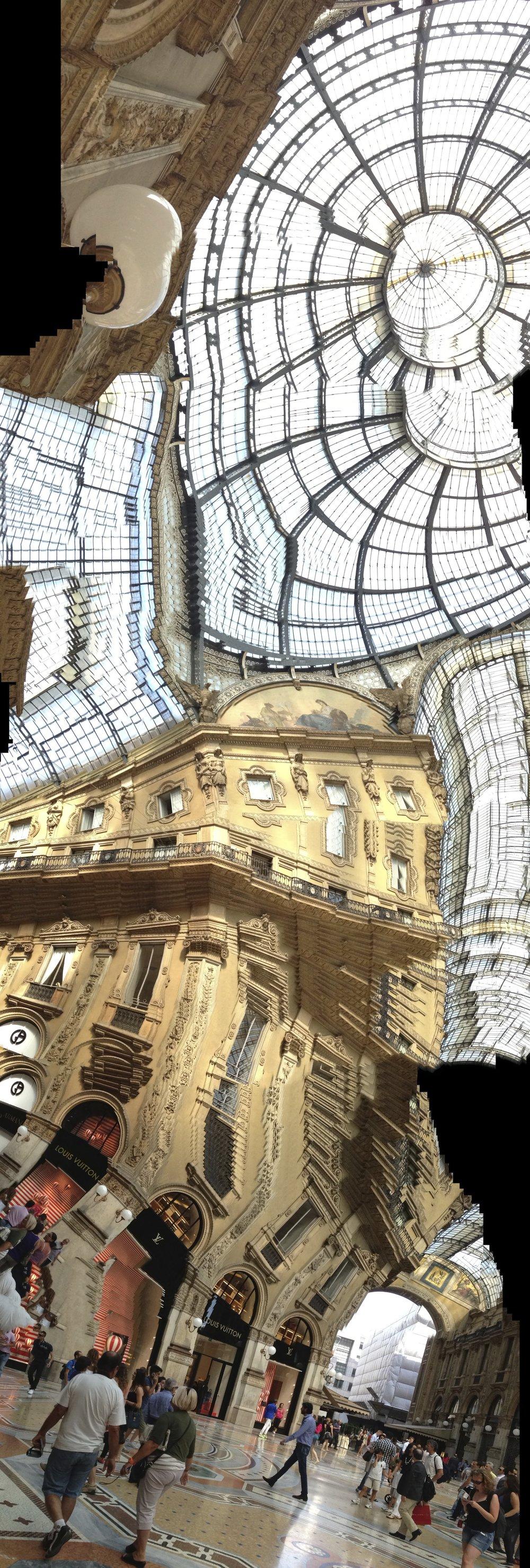 Milan, Galleria Vittorio Emanuelle