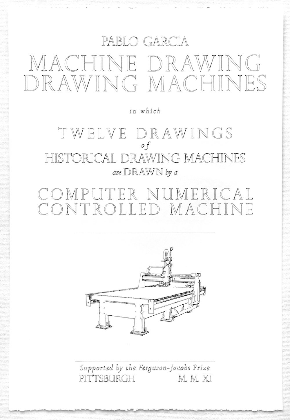 Machine-drawn frontispiece.