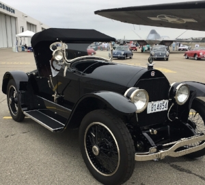 BLACK IS STEALTHY FOR A STUTZ
