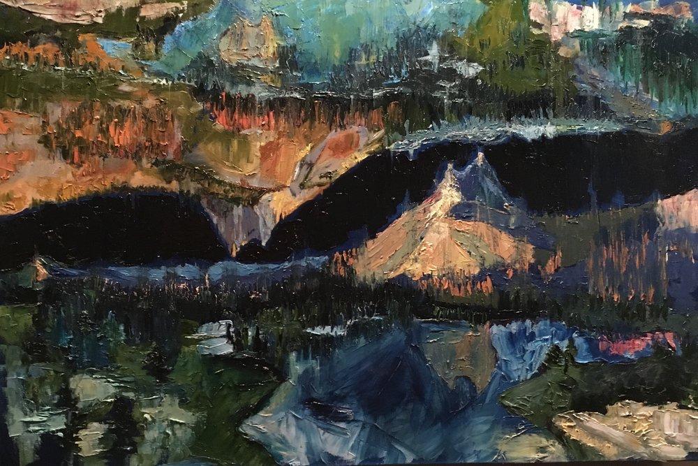 Disoriented Peak