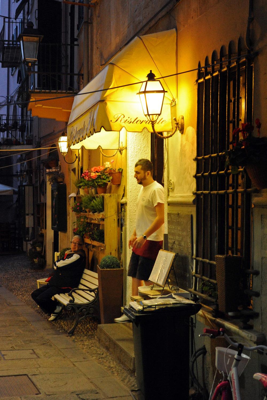Monterosso Ristorante at Night