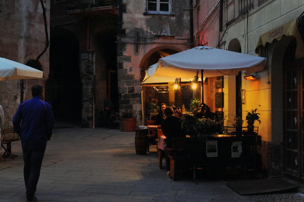 Nighttime in Monterosso