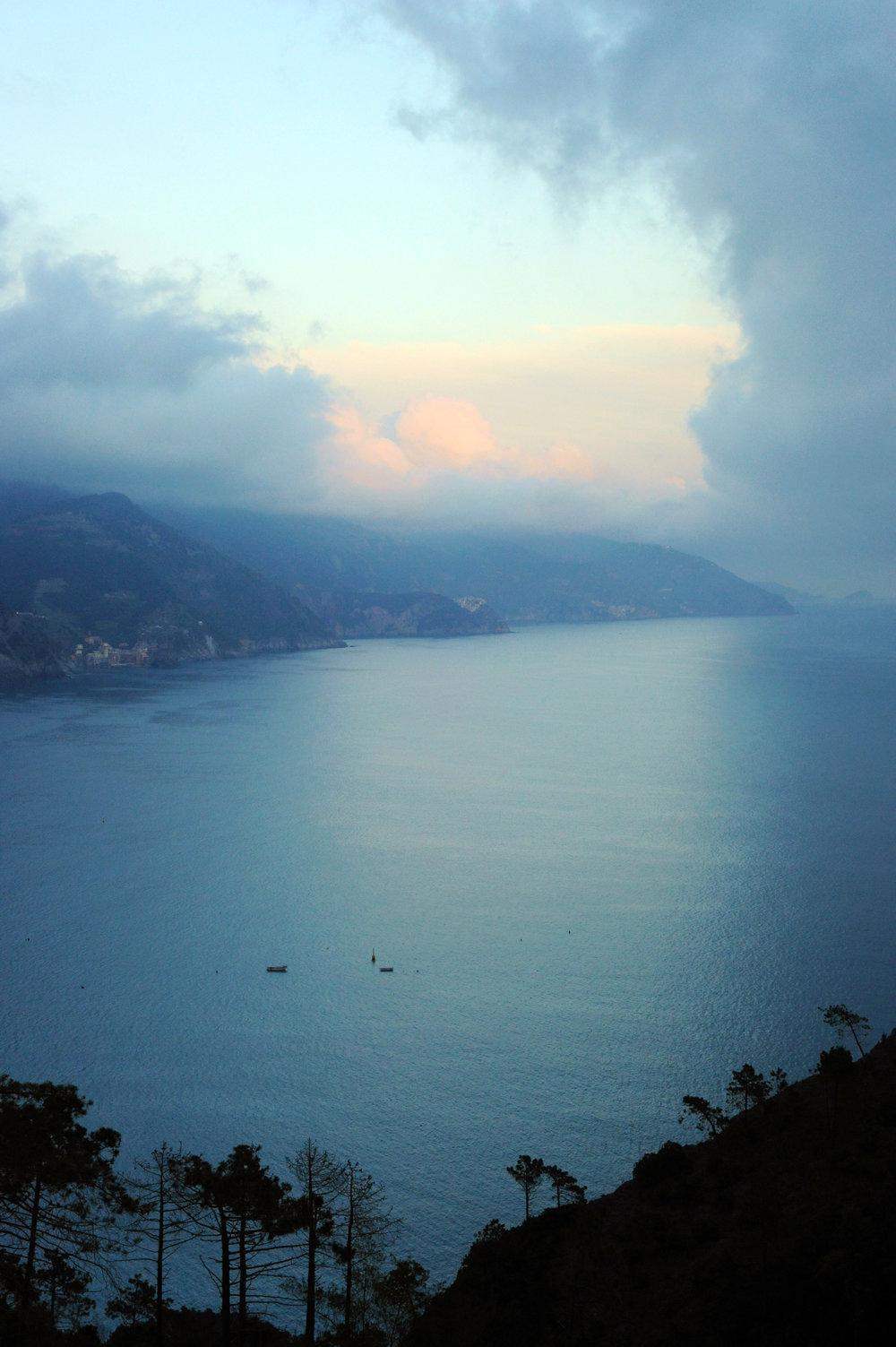 Overlooking Cinque Terre