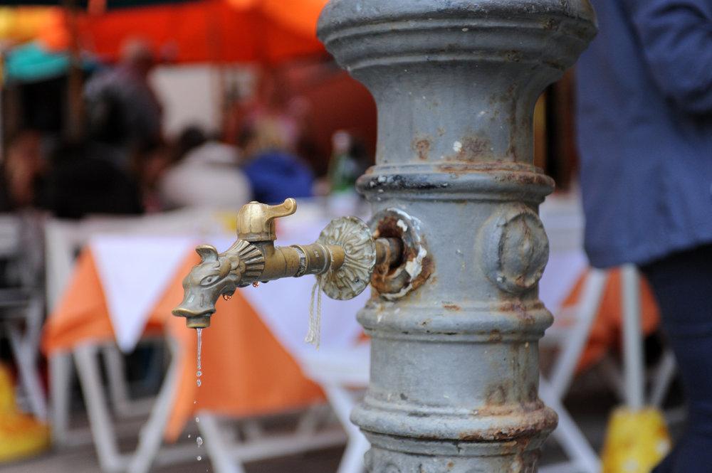 Fountain in Vernazza