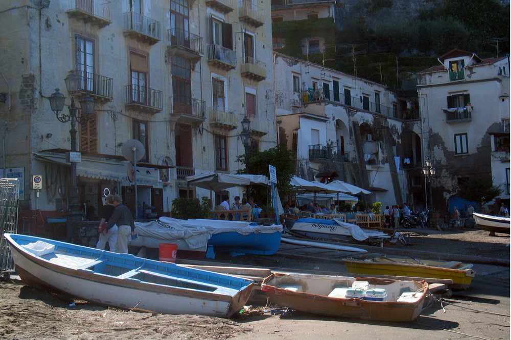 Boats in Sorrento