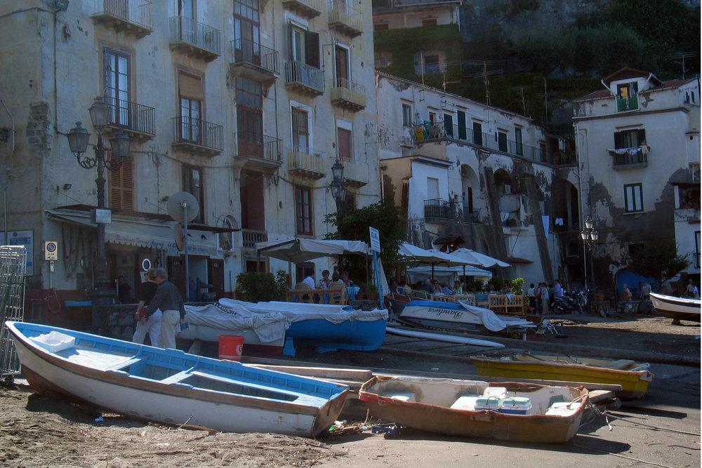Boats in Sorrento
