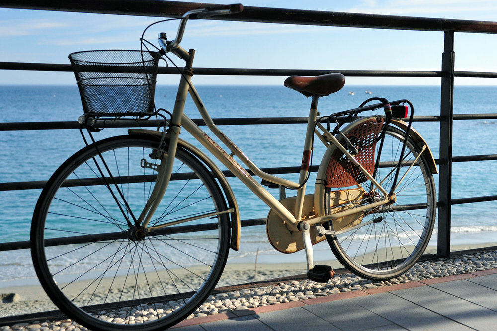 Bicycle in Monterosso