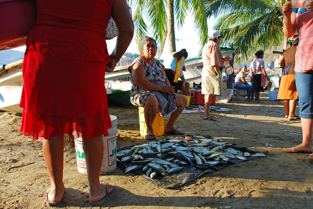 Fish Market, Zihuatanejo, Mexico