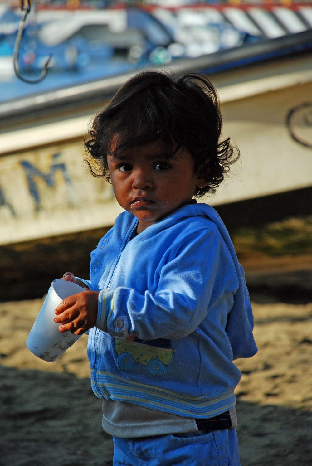 Girl in Zihuatanejo, Mexico