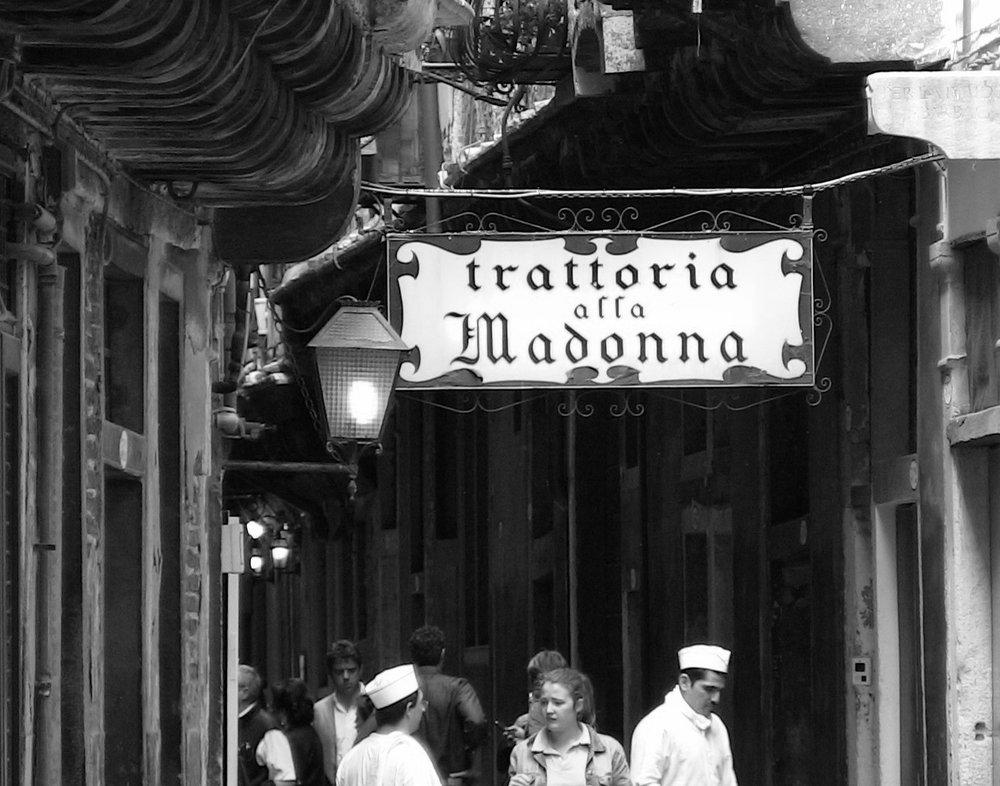 Trattoria all Madonna, Venice