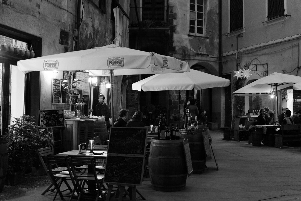 Monterosso Wine Bar at Night