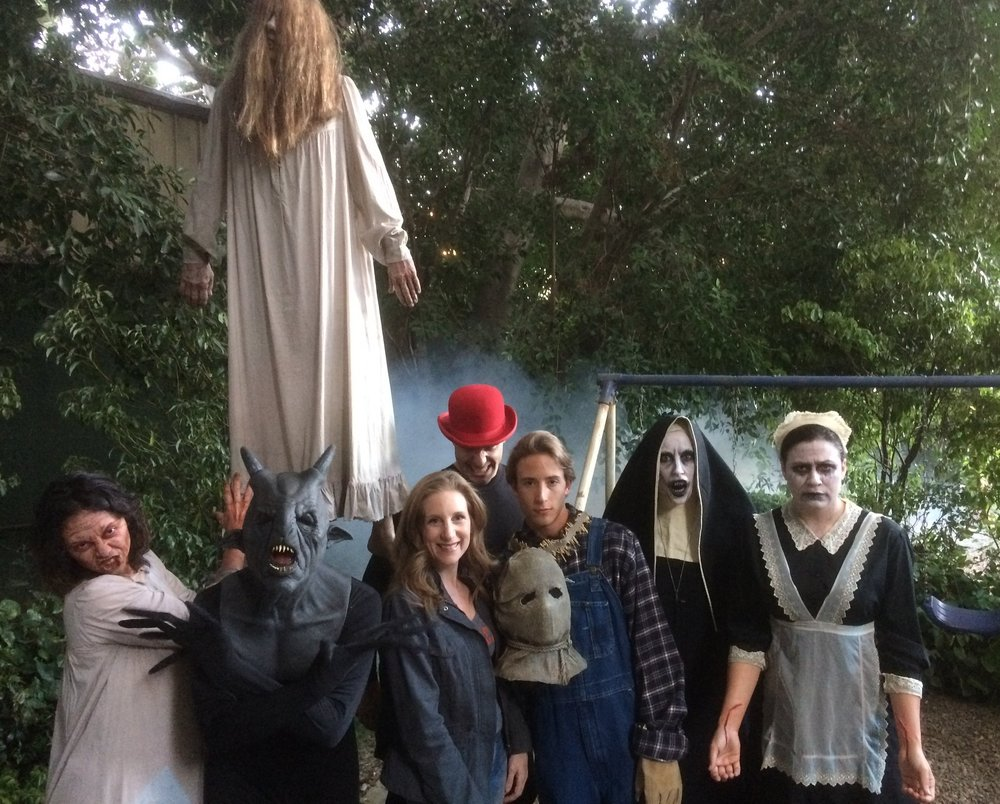 The Conjuring House Crew, 2017!
