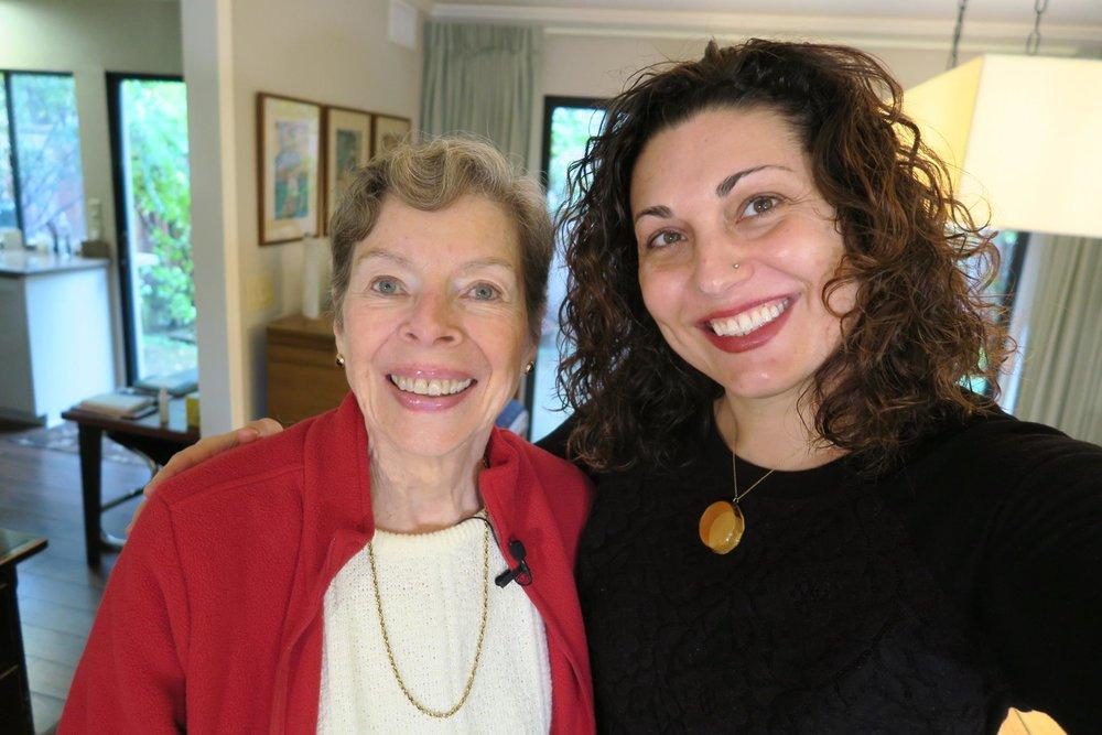 Ann Bannon and Lisa Marie Evans