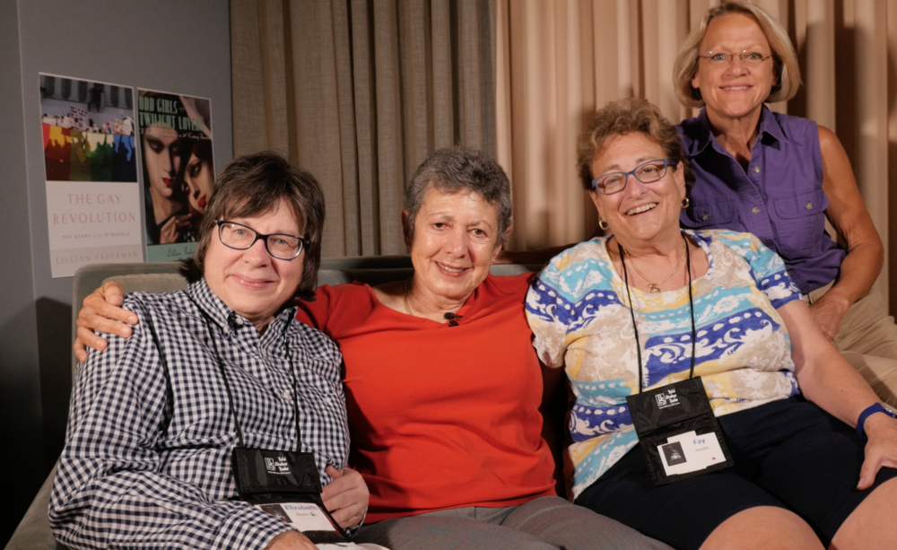 This crew interviewed THE Lillian Faderman
