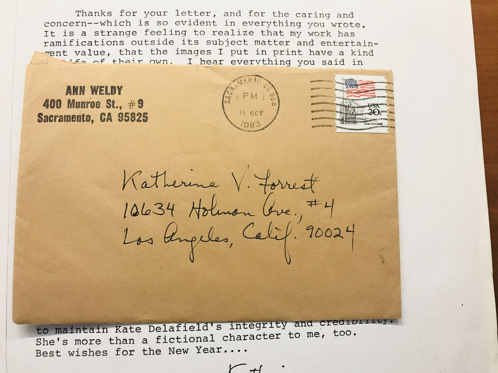 Letters from Katherine's collection