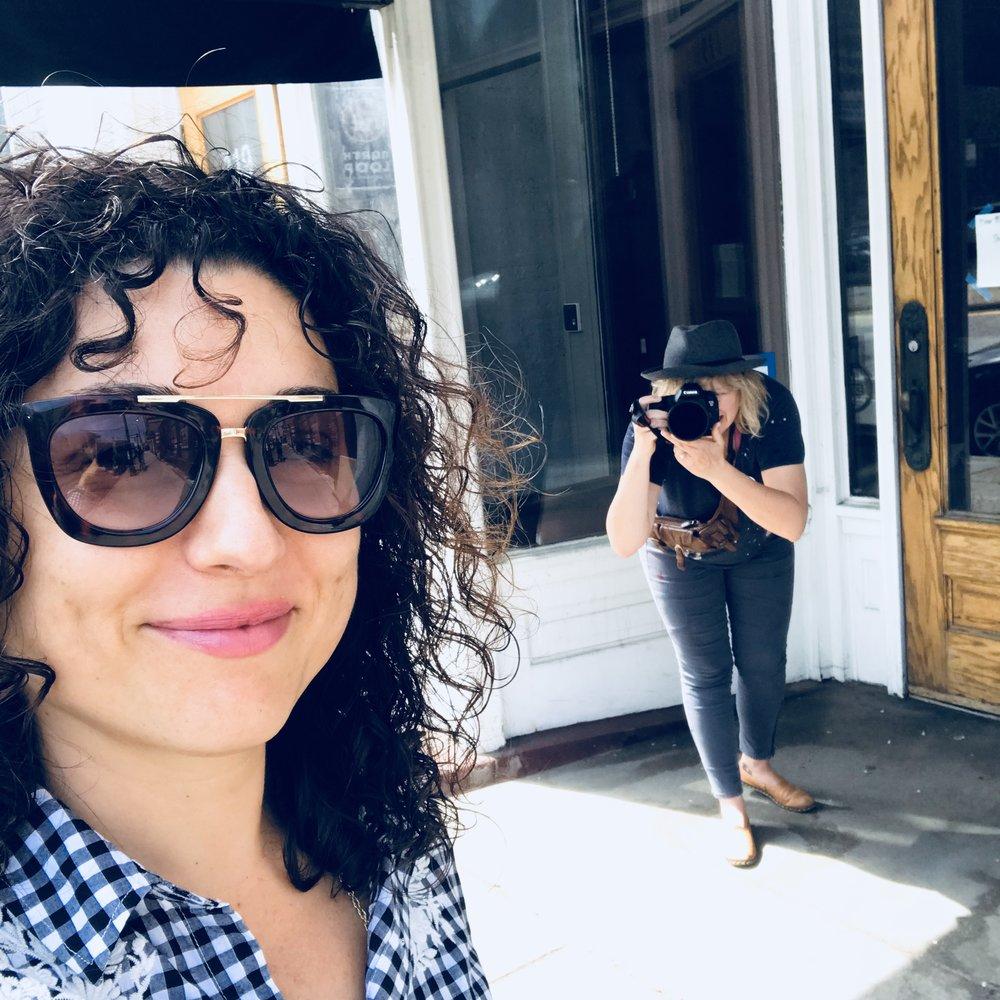 Photo essay in the works by Kat Wilson on filmmaker Lisa Marie Evans & Project Legacies