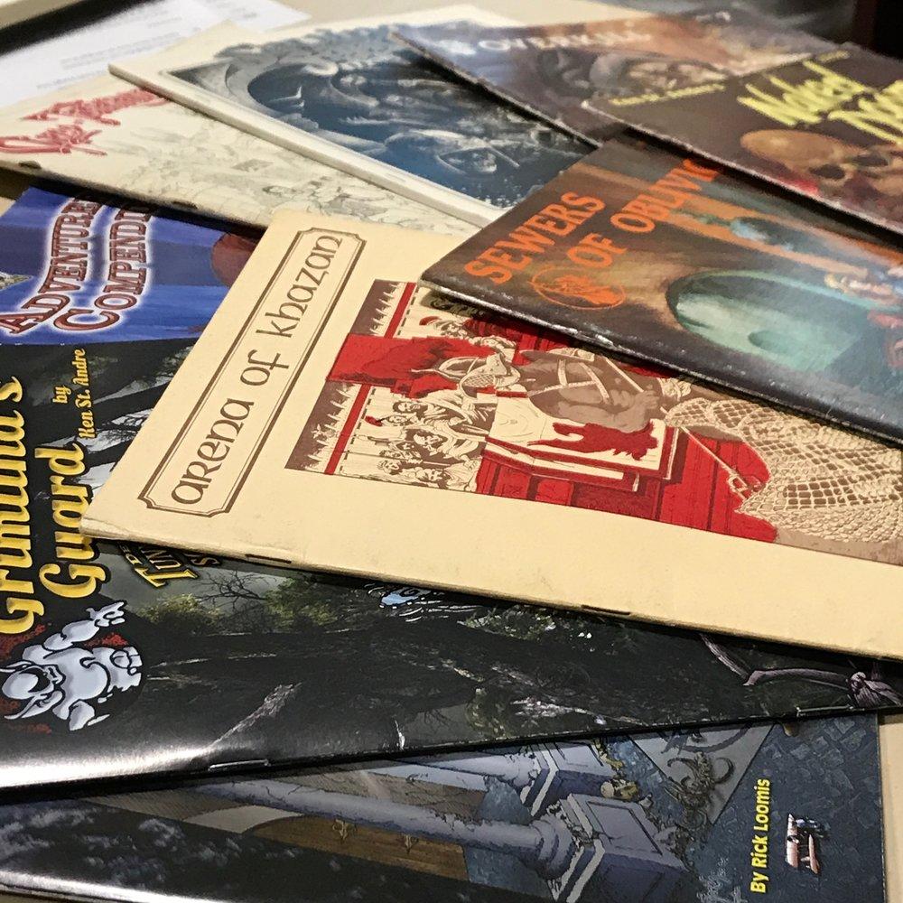 classic Tunnels & Trolls adventures