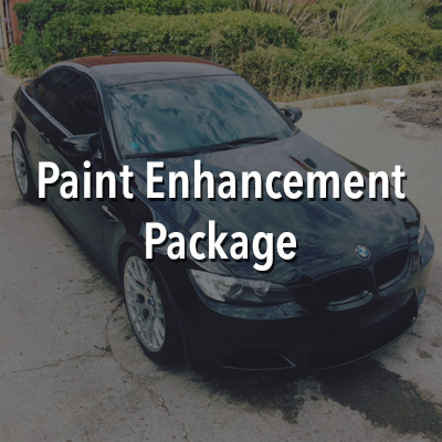 "Taking our ""Exterior Wash"" to another level, this package not only cleans, but polishes and protects the vehicles exterior for up to 12 months. Beginning with the same steam rinse and rinse-less wash process, we follow by cleaning the paint with a clay bar treatment which removes contaminants imbedded in the vehicles clear coat. Once the paint is cleaned, it is polished with CarPro Essence which removes light swirls and micro-marring while prepping the paints surface perfectly for our sealant, CarPro Essence Plus. with its unique blend of ceramic coating repair agents, high gloss quartz resins, and hydrophobic nanoparticles, this sealant adds incredible gloss and protection for up to an entire year. We top this service off with the tires and rims cleaned and tires dressed with CarPro PERL."