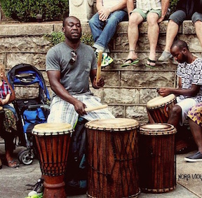 COMING SOON:  Angelo Yao - African drummer