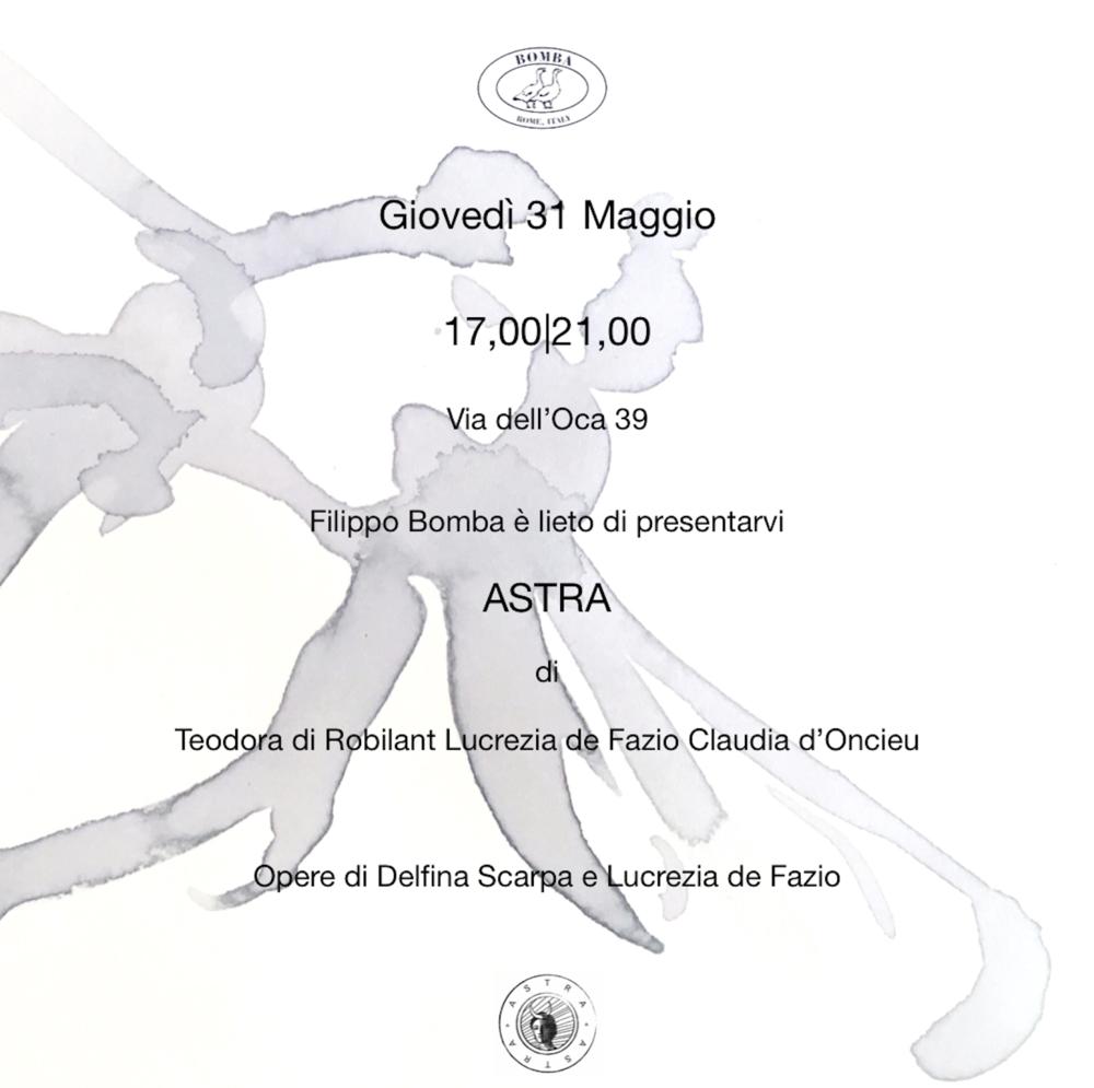 BOMBA X ASTRA - 31/05/18 - ROMA