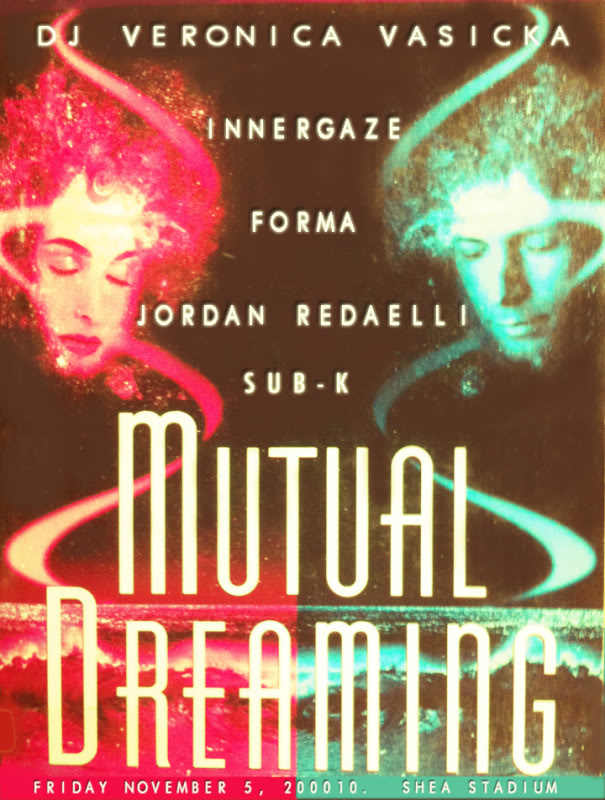 the first ever.. Mutual Dreaming Veronica Vasicka, Innergaze, Forma, Jordan Redaelli, Sub-k November 2010