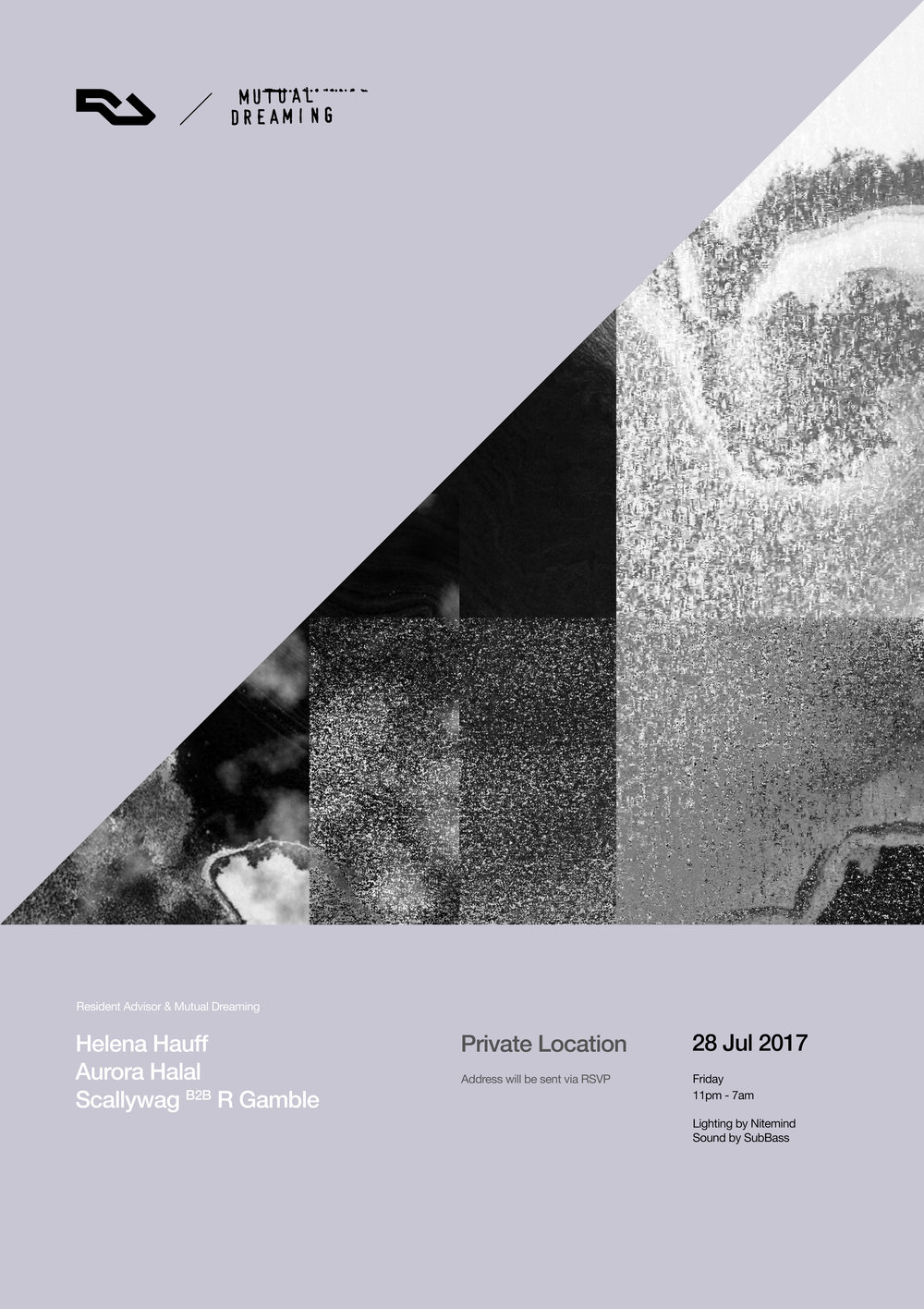 Resident Advisor + Mutual Dreaming: Helena Hauff NYC Debut  July 2017