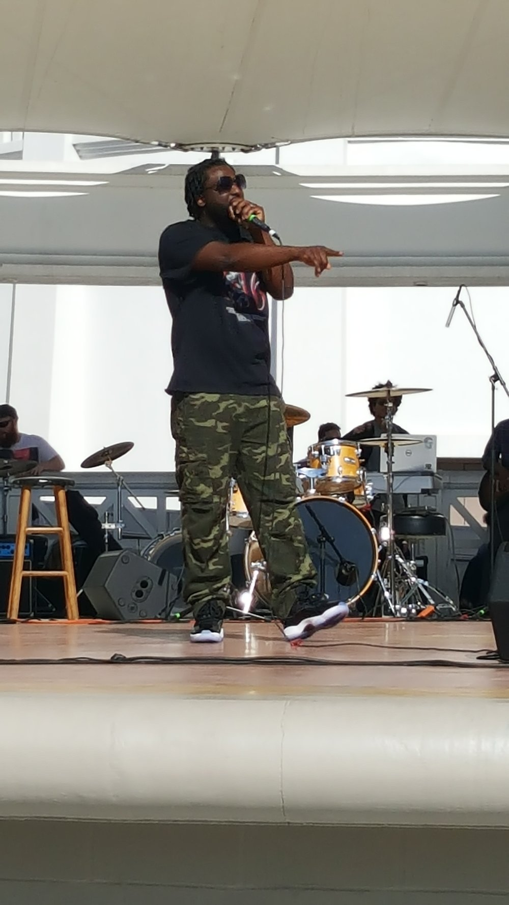 Performing in Savannah, GA