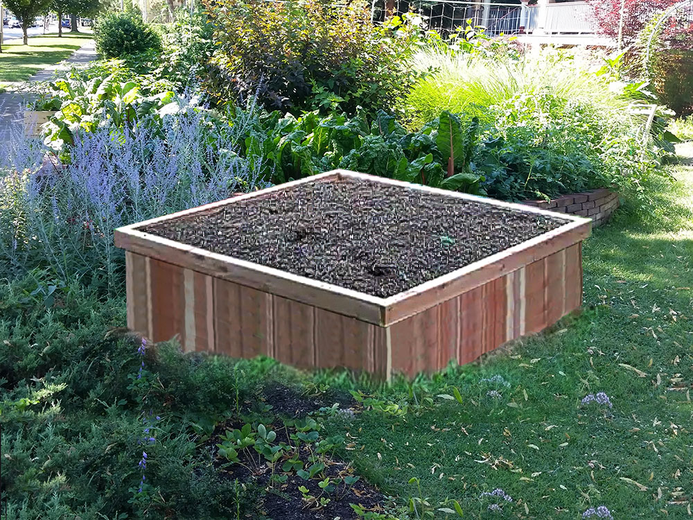Basic Cedar Raised Bed Kit