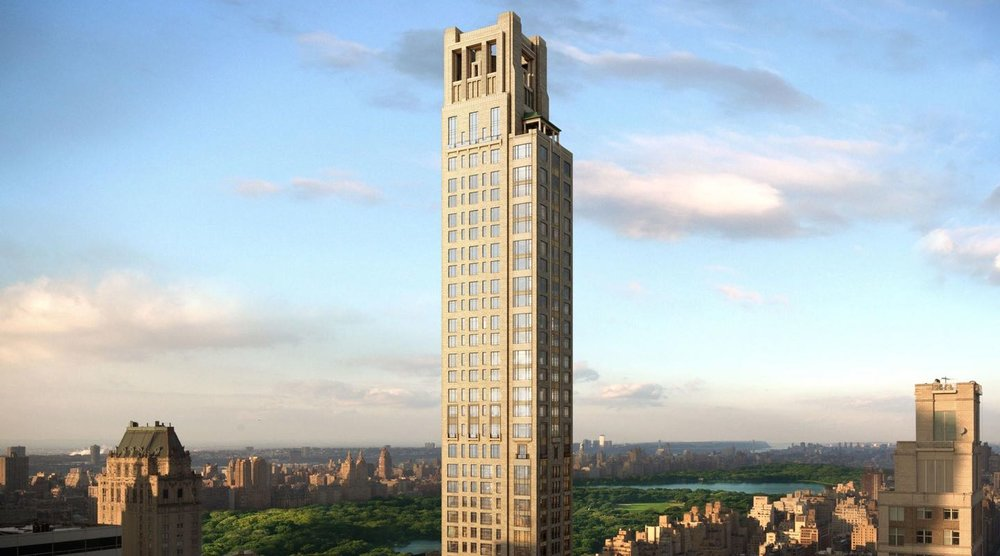 Conveniently located at only a short walk from Central Park and enjoying access to some of the hottest retail stores in the city, 520 Park Avenue is nothing short of a dream. With over 12,000 square feet and a 1,257-square-foot terrace, this 54-story skyscraper is the perfect addition to the so-called Billionaires Row.  The tower features a total of seven duplexes with over 9,000 square feet each, and twenty-three ultra-modern single floor condominium units. Developed by Zeckendorf Development and the Global Holdings, the team behind the 15 Central Park West and the 50 United Nations Plaza, this building promises breathtaking views of the city, paired with luxurious amenities and plenty of opportunities to network with the neighboring billionaires.   CITY REALTY ARTICLE    520 Park Avenue is a very elegant, 51-story, mid-block tower between Park and Madison avenues that is 779 feet 6 ½ inches feet high and contains 31 luxury condominium apartments.    It was developed by Zeckendorf Development, Global Holdings of which Eyal Over is a principal and Park Sixty LLC, of which Raphael and Ezra Nasser are principals. Global Holdings was also a partner with Zeckendorf at 15 Central Park West, 18 Gramercy Park South and 50 United Nations Plaza. Robert A. M. Stern, whose other projects include 15 Central Park West and 220 Central Park South, is the architect. The building, which is also known as 45 East 60th Street, is scheduled for completion in 2016. Christ Church on the northwest corner of Park Avenue at 60th Street sold its air rights to this project and is also known as 520 Park Avenue.   Danielle Nazinitsky is your new development condo specialist in NYC, Brooklyn & Queens!