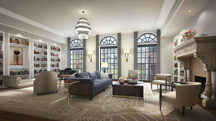 """Designed by Alexandra Champalimaud, 33 East 74th Street is a fusion of custom designs and layouts from various centuries. The property holds 10 custom designed condominium residences from 3,850 square feet to over 10,000 square feet. It includes one available penthouse that remains for $39MM. 33 East sits as a revived wonder in the corner of Madison Avenue and 74th Street, thanks to Beyer Blinder Belle.  It also holds the Atterbury Mansion, revived to reflect intricate details in both the layout and luxurious facilities that multiply the residency's grandeur. A custom lobby, double elevators, expansive corridors, fitness center and extensive storage units very well pronounce the high end conveniences that this super luxury residency houses. Not just this, 33 East sits in an integral area that makes it a social center and adds to its communal value.   CITY REALTY ARTICLE    After a long planning process, the southward expansion of the Whitney Museum of American Art on the Upper East Side has retained the cornice line of the existing low-rise buildings and only their façades that have been redeveloped in 2014 into 10 large condominium apartments at 33 East 74th Street and no space for the museum that decided to relocate to a new building designed by Renzo Piano at the southern base of the High Line Elevated Park in West Chelsea and let the Metropolitan Museum of Art use its great building for contemporary art.    The development is known as Whitney Condos.    Beyer Blinder Belle was the architectural firm handling the conversion and Champalimaud Interior Design, which has worked recently on interiors at the Waldorf-Astoria Hotel and the Pierre Hotel, was responsible for the interiors.    JZS Madison LLC, an affiliate of the Straus Group, was the developer. The Straus Group is headed by Daniel E. Straus, who purchased the properties in the complex from the museum for $95 million.    A January 14, 2014 article in The New York Daily News by Matt Chaban said that """"in 1984"""