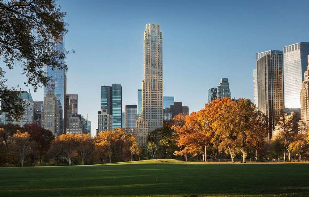 """Designed by Robert A.M. Stern Architects and The Office of Thierry W. Despont, these ultra-luxury residences hold the Villa, a 18-storey building and behind it, a 950 ft. tower. 220 Central Park South stands 65 stories tall and houses 160 units. The façade is striking, with its Juliet balconies, Alabama limestone, and metalwork lending it the classic New York feel in terms of architectural taste. These residences are at a surprisingly close proximity to Broadway and enjoy a vibrant, bustling neighborhood with multiple, premium recreational spots for families. The layout mirrors the team's meticulous attention to detail and the residences ensure that 220 gives its people nothing less than the premium NYC essence in living. It offers various services and amenities, including a doorman and concierge, elevator, gym, and laundry.     CITY REALTY ARTICLE     The year the now-demolished apartment building at 220 Central Park South was built. The 20-story, 124-unit rental building was designed by Mayer & Whittlesey and M. Milton Glass. The firm also designed the nearby  40 Central Park South and  240 Central Park South , which, like 220, are through-block buildings that extend to West 58th Street. The building replaced three nineteenth-century rowhouses and an apartment building, all built by the Appleby family.  In their """"New York 1960 Architecture and Urbanism Between the Second World War and The Bicentennial,"""" Robert A. M. Stern, Thomas Mellins and David Fishman provide the following commentary about the building: """"The twenty-story building had coarsely detailed rows of double-hung aluminum windows set in white brick, corner balconies and a blocky elevator penthouse; a similarly dismal building faced Fifty-Eight Street and was separated from its companion by a garden. The setback base of the building on Central Park South compromised the street wall that was so critical to the framing of the park.""""    CONTACT US FOR MORE INFORMATION ABOUT THIS AND OTHER NEW DEVELOPMENTS """