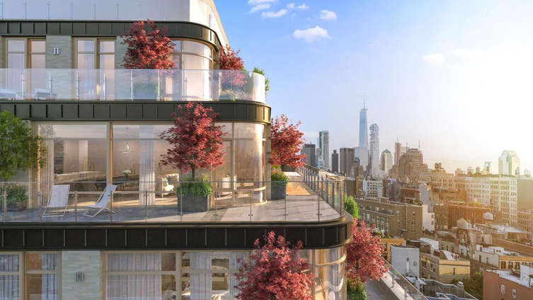 Designed by the celebrated AD100 landscape architect, Edmund Hollander, this 12-storey condo building features 61 units of 1-5 bedrooms, designed by Rawlings Architects and listed from $1.775M. The homes are currently soft-selling, establishing a timeless presence in the intimate and desirable neighborhood of Noho. The building exhibits a contextual yet contemporary design, with the interiors, designed by the AD100 interior designer, Ryan Korban, exhibiting impeccably tailored layouts, mirroring meticulous attention to detail in the master bedrooms, baths as well as the custom kitchens. The expansive windows, generously spacious floor plans and high-performance fittings and fixtures in each home establish a convenient, modern and elegant living for the residents. A robust amenity package includes a doorman, concierge, elevator, bike room, live-in super, private parking, swimming pool, garden, landscaped courtyard, state-of-the-art fitness center, and a 24-hour attended lobby.    CITY REALTY ARTICLE    40 Bleecker Street is a post-war condominium building in downtown Manhattan's  NoHo  neighborhood finished in 2019. Situated between Bleecker Street and East Houston Street, the building contains 61 units and rises 12 stories. The elevatored building's amenities include: basement storage, pool, elevator, fitness center, on-site parking, outdoor entertainment space, laundry room, bike room and terraces / balconies.    CONTACT US FOR MORE INFORMATION ABOUT THIS AND OTHER NEW DEVELOPMENTS IN NYC, BROOKLYN & QUEENS!