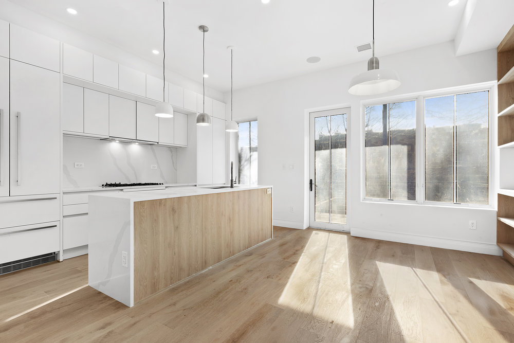 I just closed on my third property in 2019, 614 Decatur Street which is a 2,700 square foot completely renovated 2 family house that closed for $1,980,000. There is an 1,800 square foot owners duplex with 3 beds, 2.5 baths and master bedroom suite with terrace & marble bathroom and the 1800s historic wood was restored and mixed with new modern twists including a German kitchen and Swedish lighting.