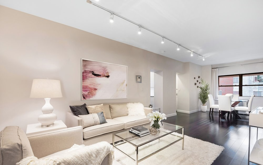 I just listed a fully renovated 2 bedroom apartment for rent in NOLITA for $5,800 per month. This apartment has undergone a high-end renovation featuring a gourmet Gamadecor kitchen with Miele, Sub-Zero and Wolf appliances. The sun-blasted unit has north and south exposures (onto Prince Street & Zen Garden). It also has Brazilian walnut wood floors, custom closets and plenty of storage. The bathroom contains the clean lines of Kohler fixtures, high-end Porcelanosa Tile and radiant heated floors. Contact me for a private showing!