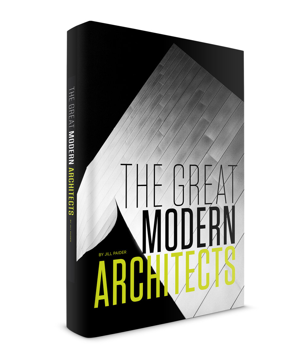 THE GREAT MODERN ARCHITECTS - LIMITED EDITION PRINT