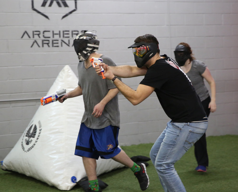NERF WARS TORONTO-NERF BATTLE-BEST ARENA-NERF TRIAD-NERF STRONGARM-TACTICAL