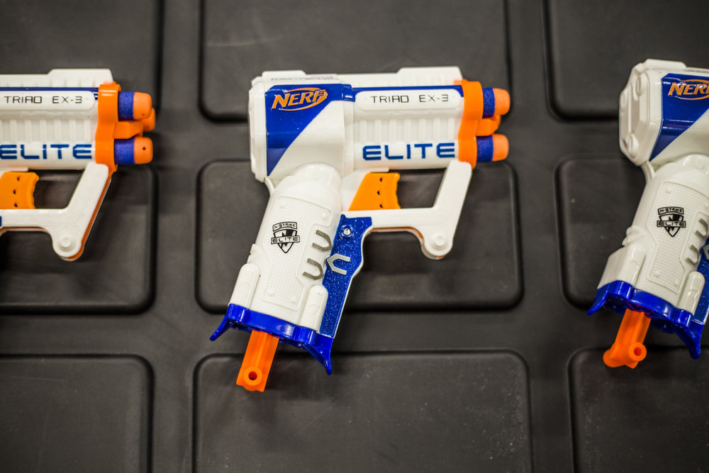 toronto nerf wars blue Elite Ex-3 archers arena nerf combat battle 2.jpg