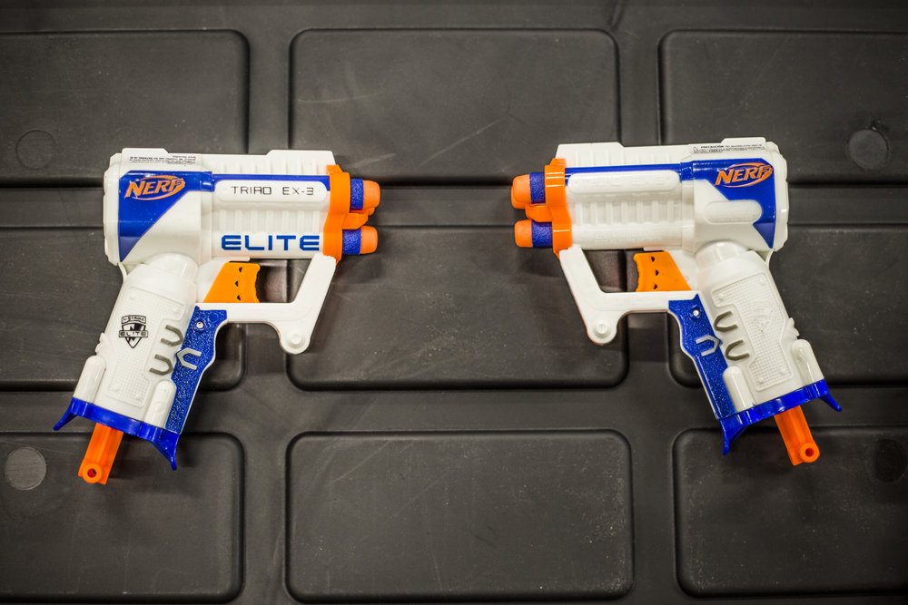 toronto nerf wars blue Elite Ex-3 archers arena nerf combat battle.jpg