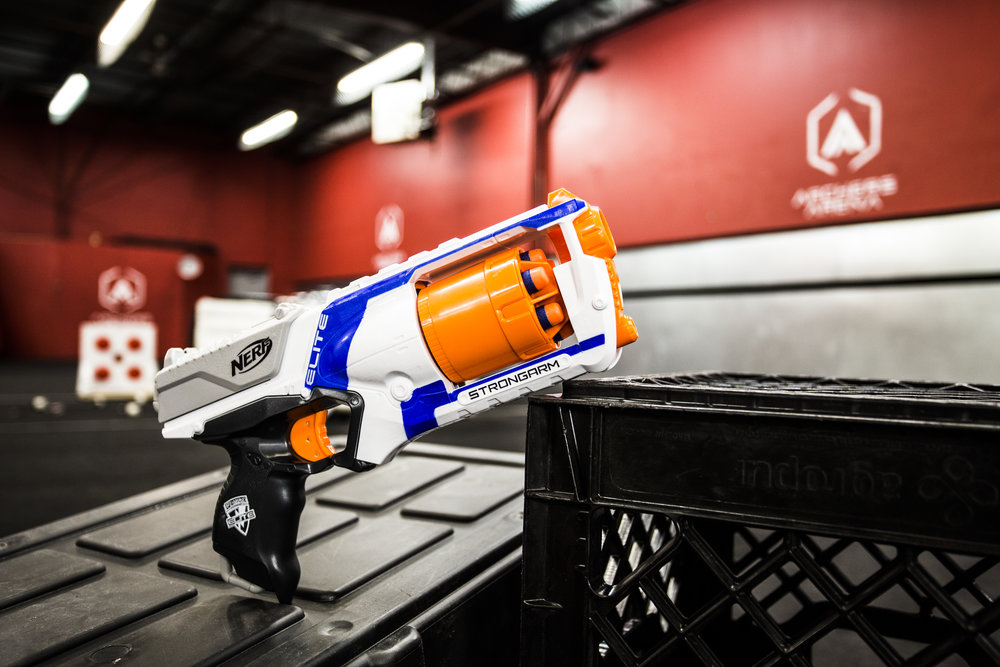toronto nerf wars blue strongarm elite archers arena nerf combat battle.jpg