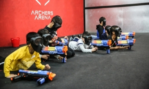 NERF WARS TORONTO-NERF BATTLE-BEST ARENA-NERF STRONGARM