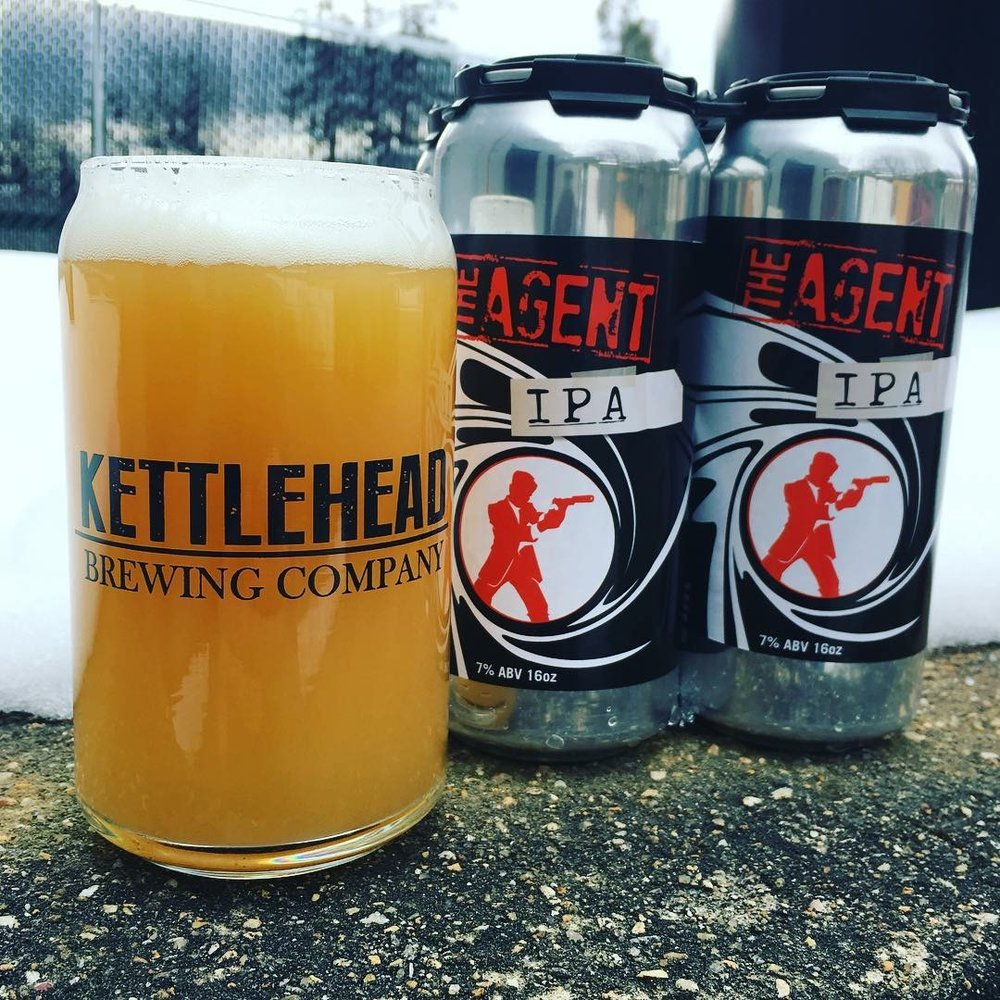 THE AGENTIPA7% ABV - Our flagship IPA. Double dry hopped to bring out more hop presence. Flavors of orange and grapefruit with a heathy malt backbone.